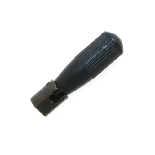 A ribbed revolving safety handle