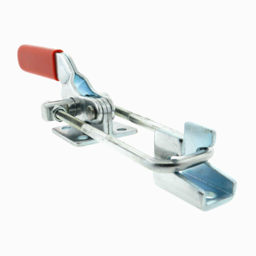 A latch and hook steel toggle clamp