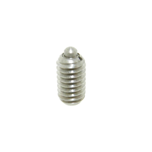 stainless steel short spring plunger with standard end force