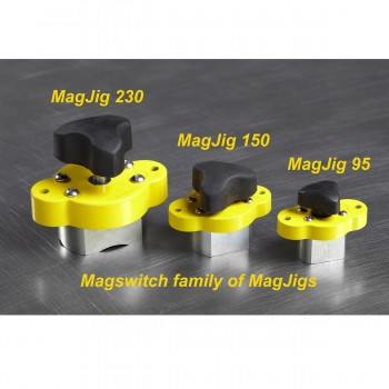 Magjigs magnetic woodworking tools by Magswithch