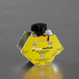 A Magswitch mini angle magnetic tool for welding and fabrication