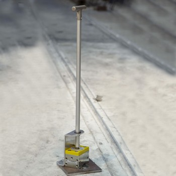 A Magswitch magnetic lifter on a stick