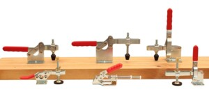 Toggle Clamps used for woodworking and carpentry manufactured by Industrial Components Group