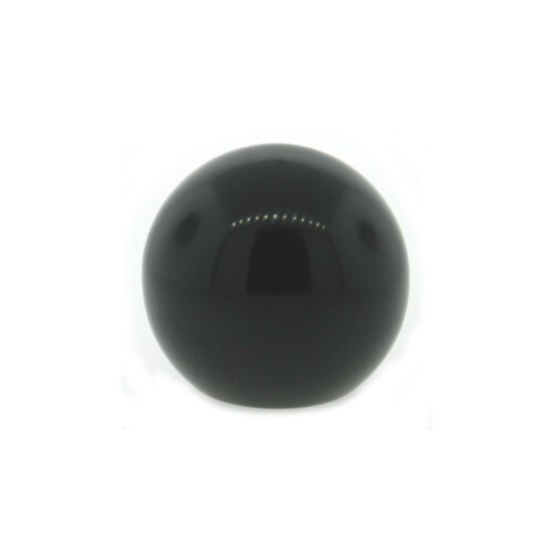 A phenolic ball knob with a tapped hole (inch)