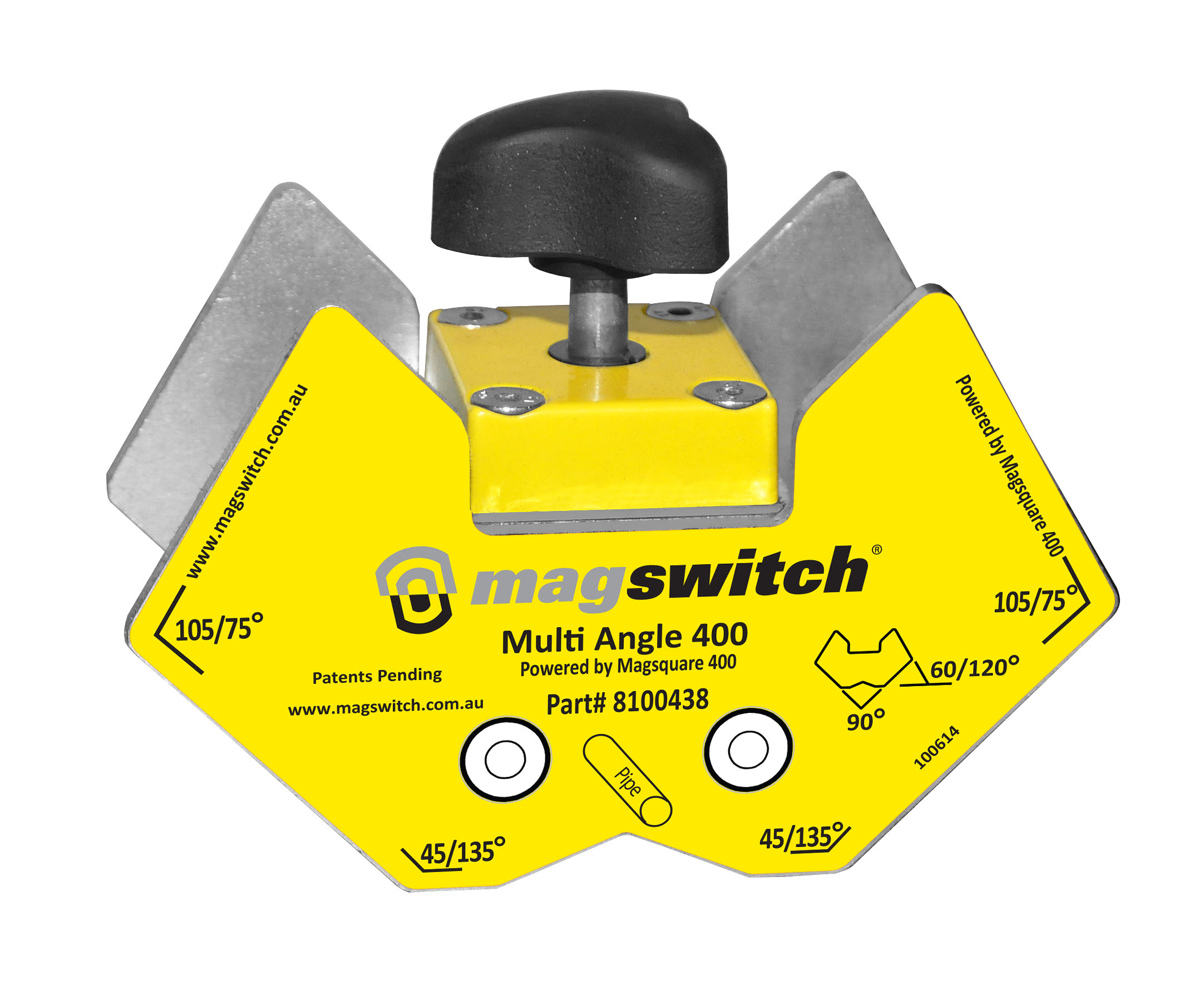 A Magswitch multi angle magnetic tool for welding and fabrication